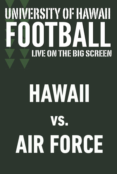 "Movie poster image for ""HAWAII vs. AIR FORCE - UH Football"""