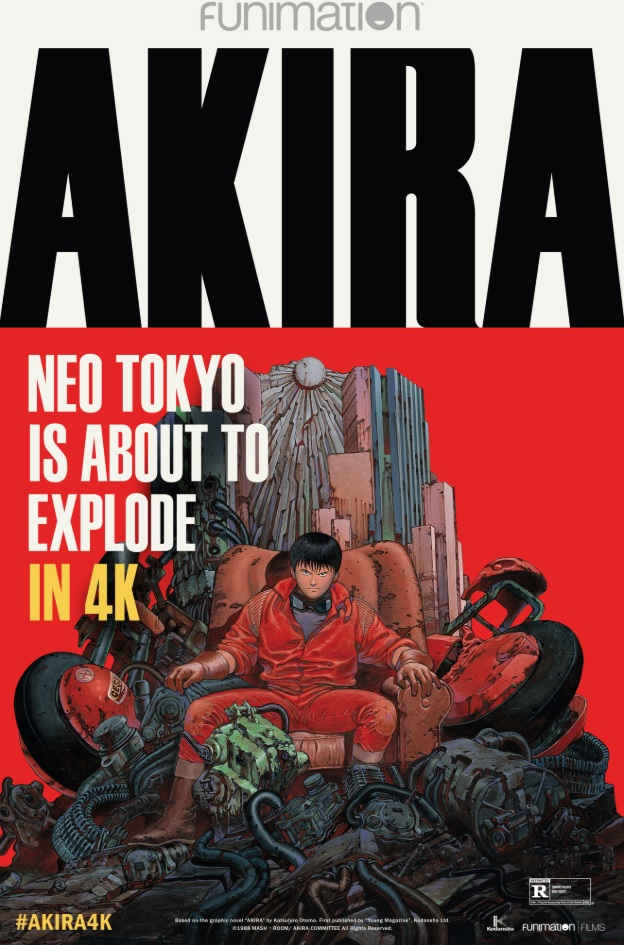 Movie poster image for AKIRA 4K