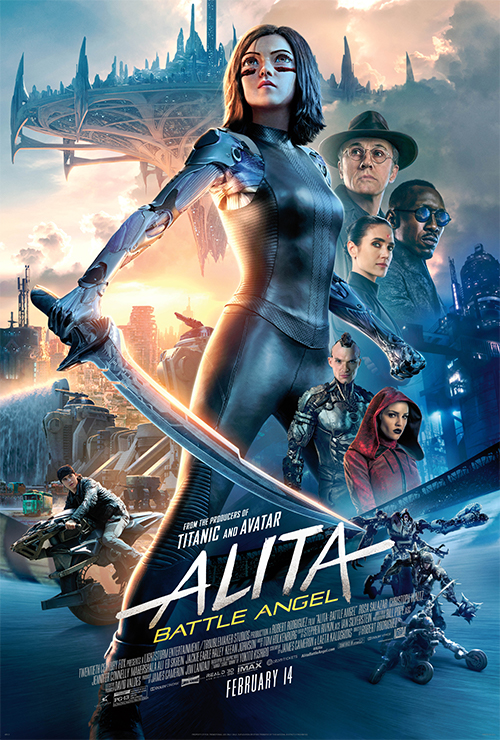 "Movie poster image for ""ALITA: BATTLE ANGEL in IMAX"""
