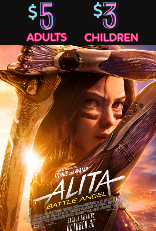 Movie poster image for ALITA: BATTLE ANGEL