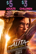 Movie poster image for ALITA: BATTLE ANGEL