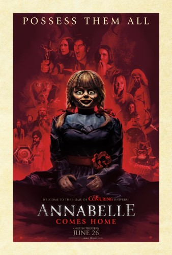"Movie poster image for ""ANNABELLE COMES HOME"""