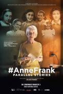 #ANNEFRANK PARALLEL STORIES Movie Poster