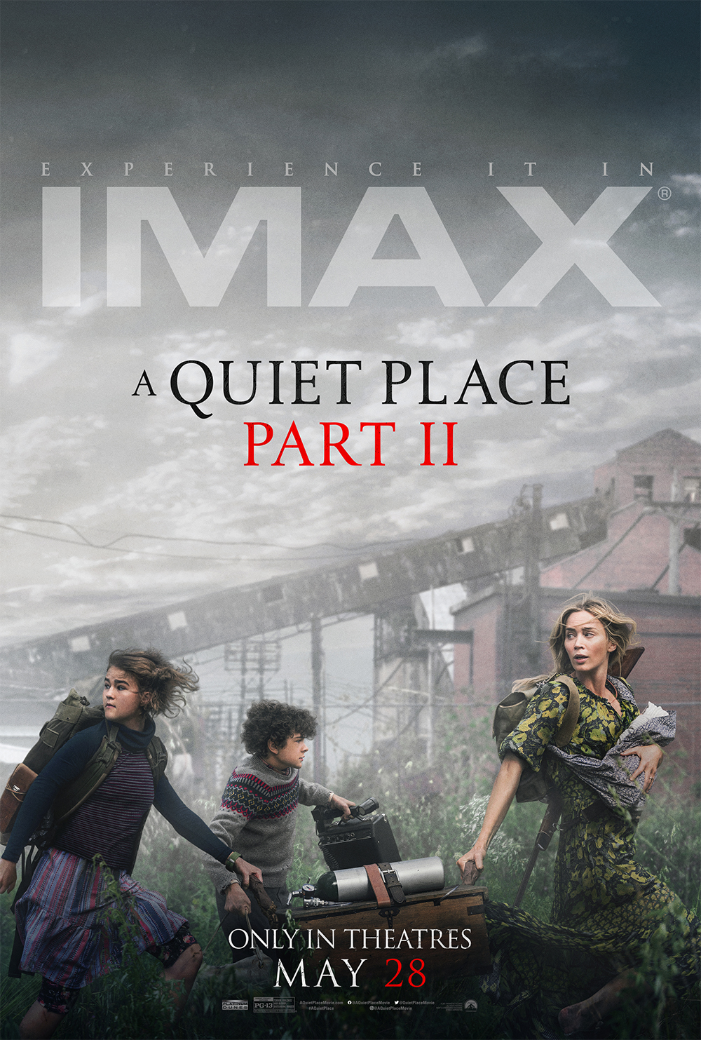 Movie poster image for A QUIET PLACE PART II in IMAX
