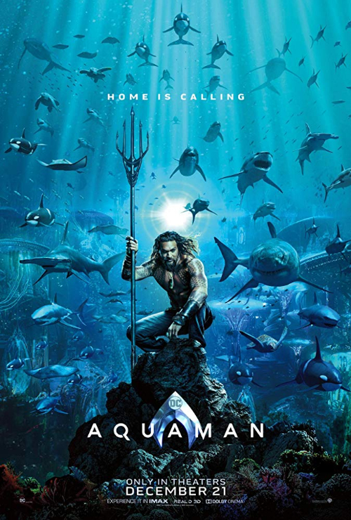 "Movie poster image for ""AQUAMAN"""