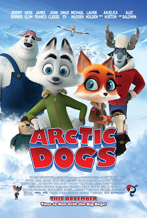 "Movie poster image for ""ARCTIC DOGS"""