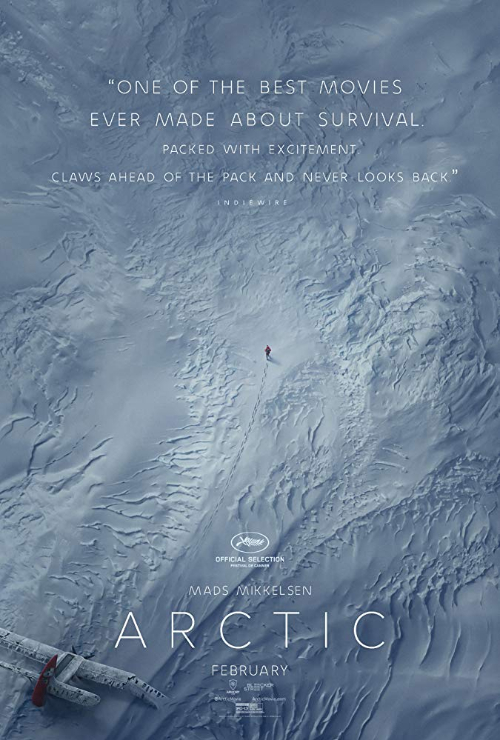 """Movie poster image for """"ARCTIC"""""""
