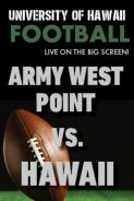 Poster of HAWAII vs. ARMY WEST POINT - UH Football