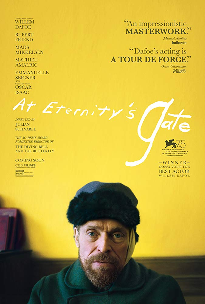 "Movie poster image for ""AT ETERNITY'S GATE """