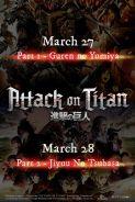 ATTACK ON TITAN PART 2 - JIYUU NO TSUBASA