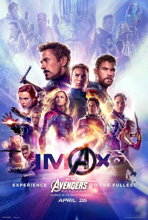 "Movie poster image for ""AVENGERS: ENDGAME in IMAX"""