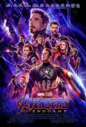 "Movie poster image for ""AVENGERS: ENDGAME"""