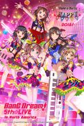 BANG DREAM! 5TH☆LIVE / POPPIN'PARTY HAPPY PARTY 2018!