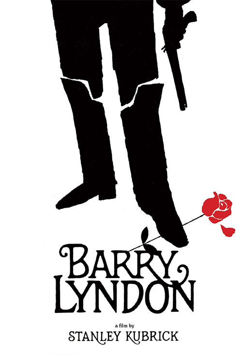 """Movie poster image for """"BARRY LYNDON - Heere's Kubrick!"""""""