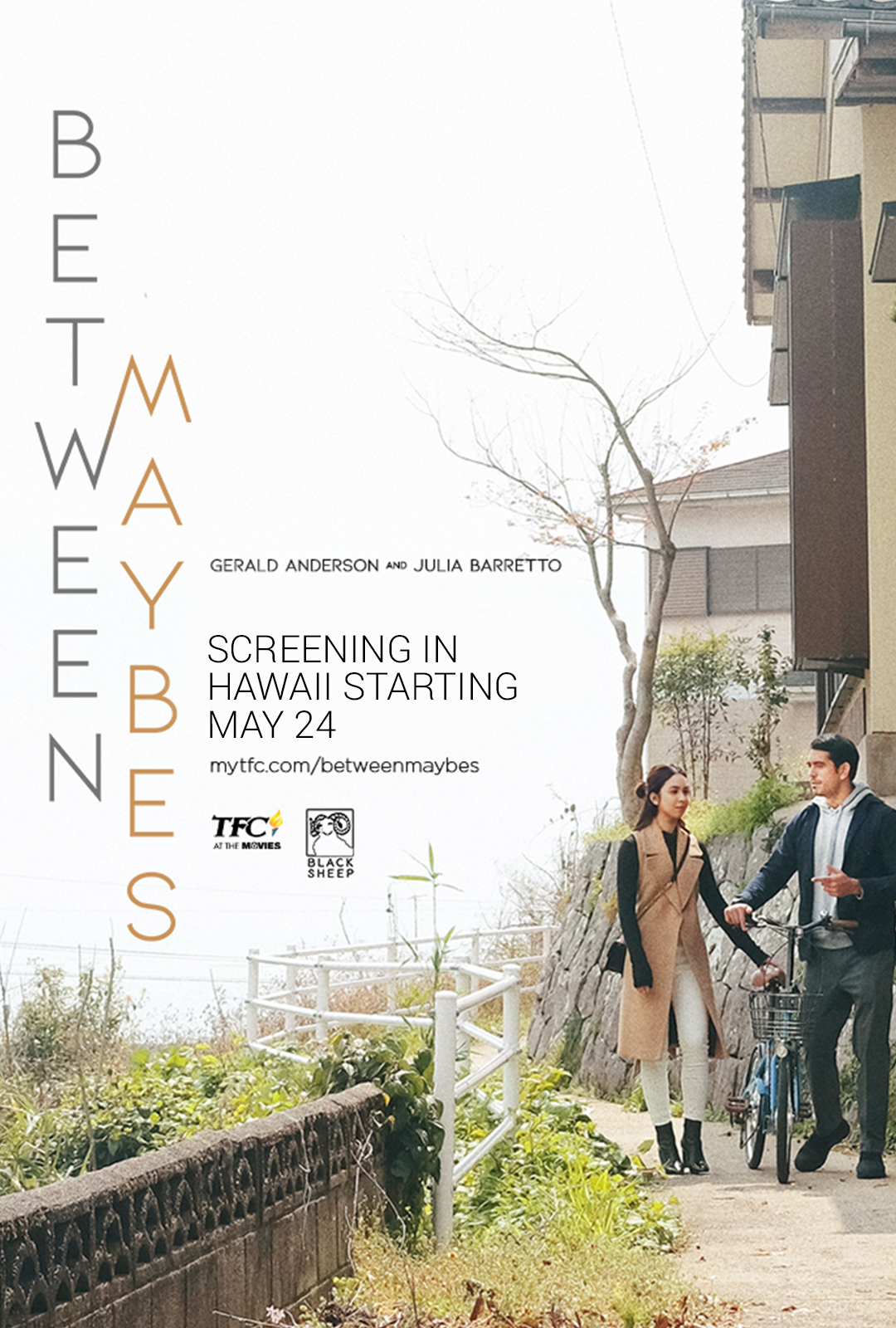 "Movie poster image for ""BETWEEN MAYBES"""