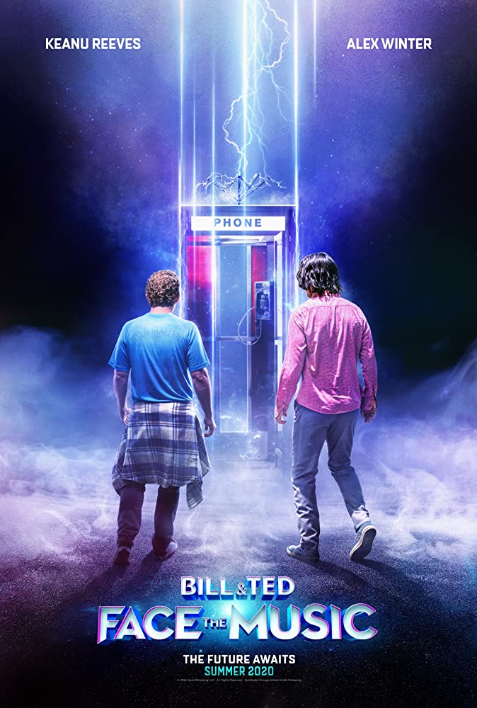 Movie poster image for BILL & TED FACE THE MUSIC
