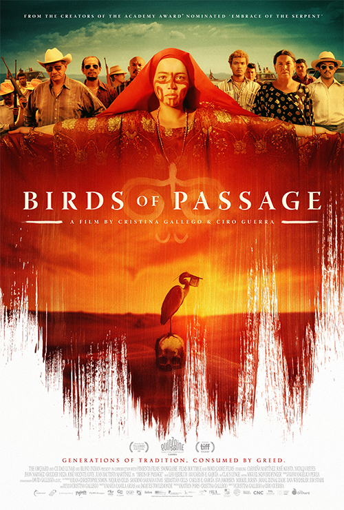 """Movie poster image for """"BIRDS OF PASSAGE"""""""