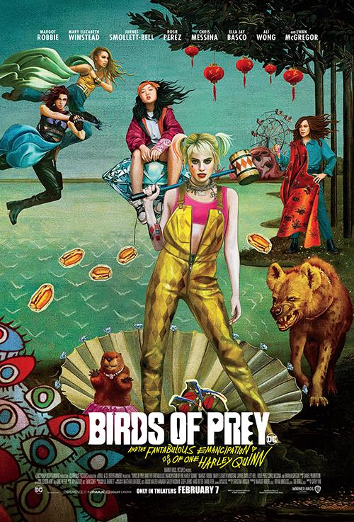 Movie poster image for 'HARLEY QUINN: BIRDS OF PREY'