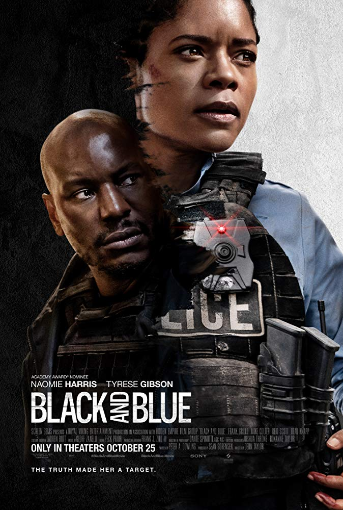 "Movie poster image for ""BLACK AND BLUE"""
