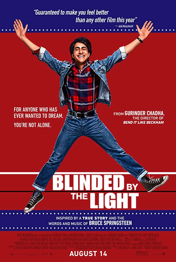 "Movie poster image for ""BLINDED BY THE LIGHT"""