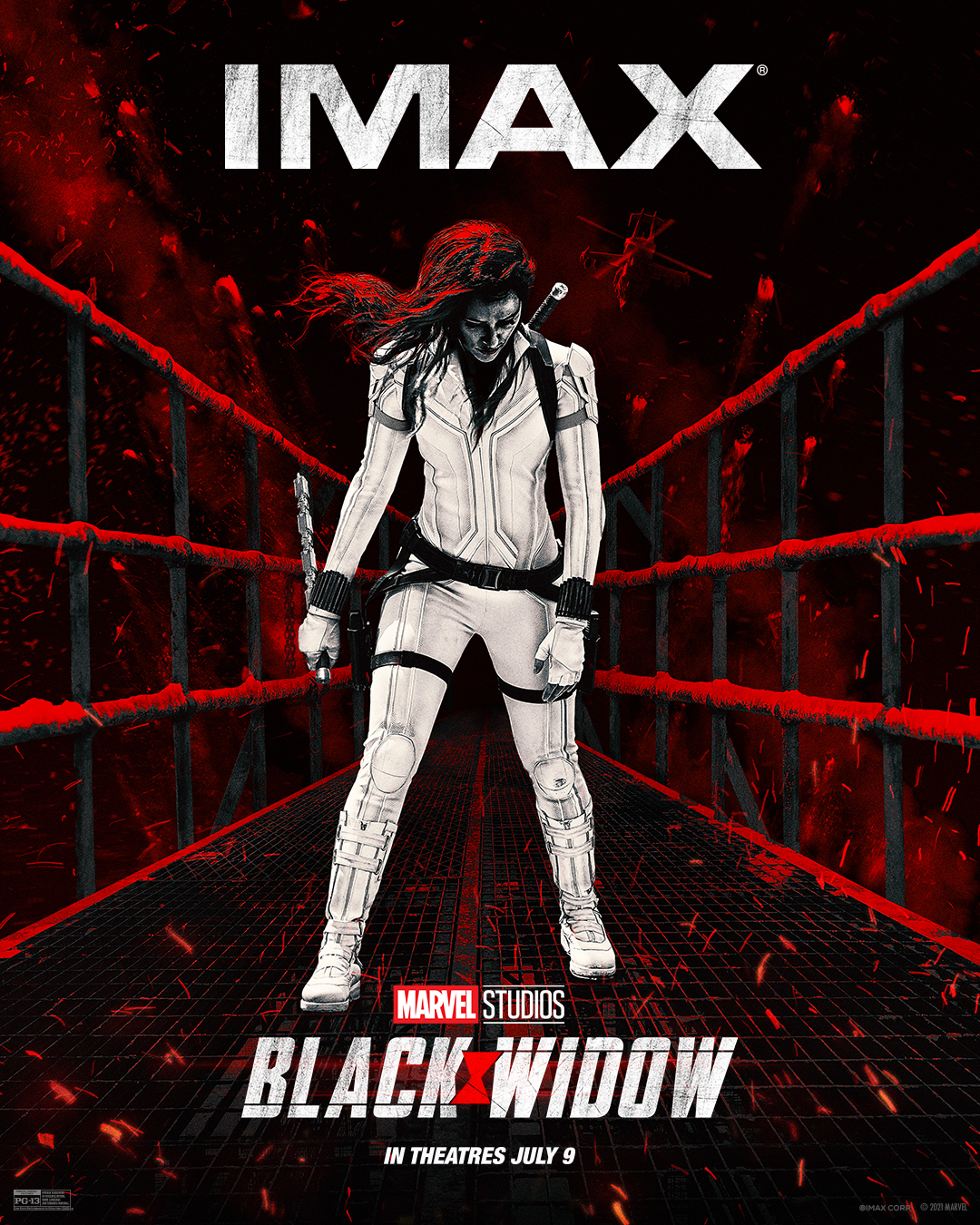 Movie poster image for BLACK WIDOW in IMAX