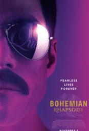 "Movie poster image for ""BOHEMIAN RHAPSODY"""