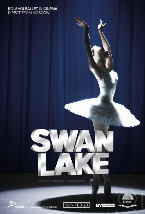 Movie poster image for 'BOLSHOI BALLET: SWAN LAKE'