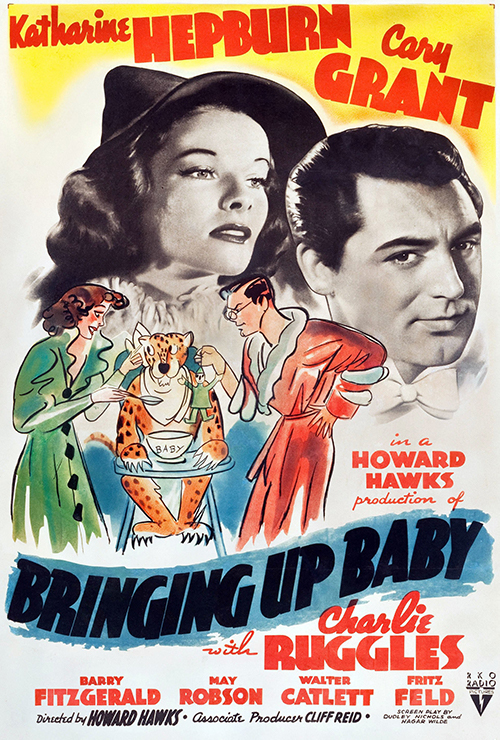 "Movie poster image for ""BRINGING UP BABY"""