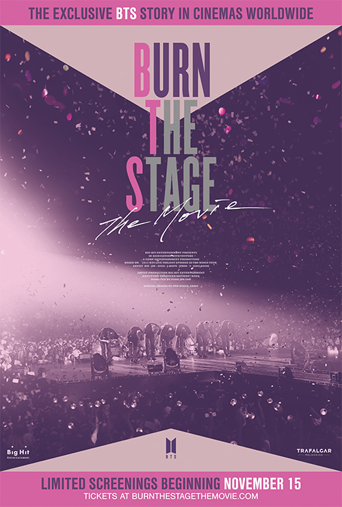 "Movie poster image for ""BURN THE STAGE: THE MOVIE"""