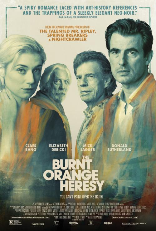 Movie poster image for 'THE BURNT ORANGE HERESY'