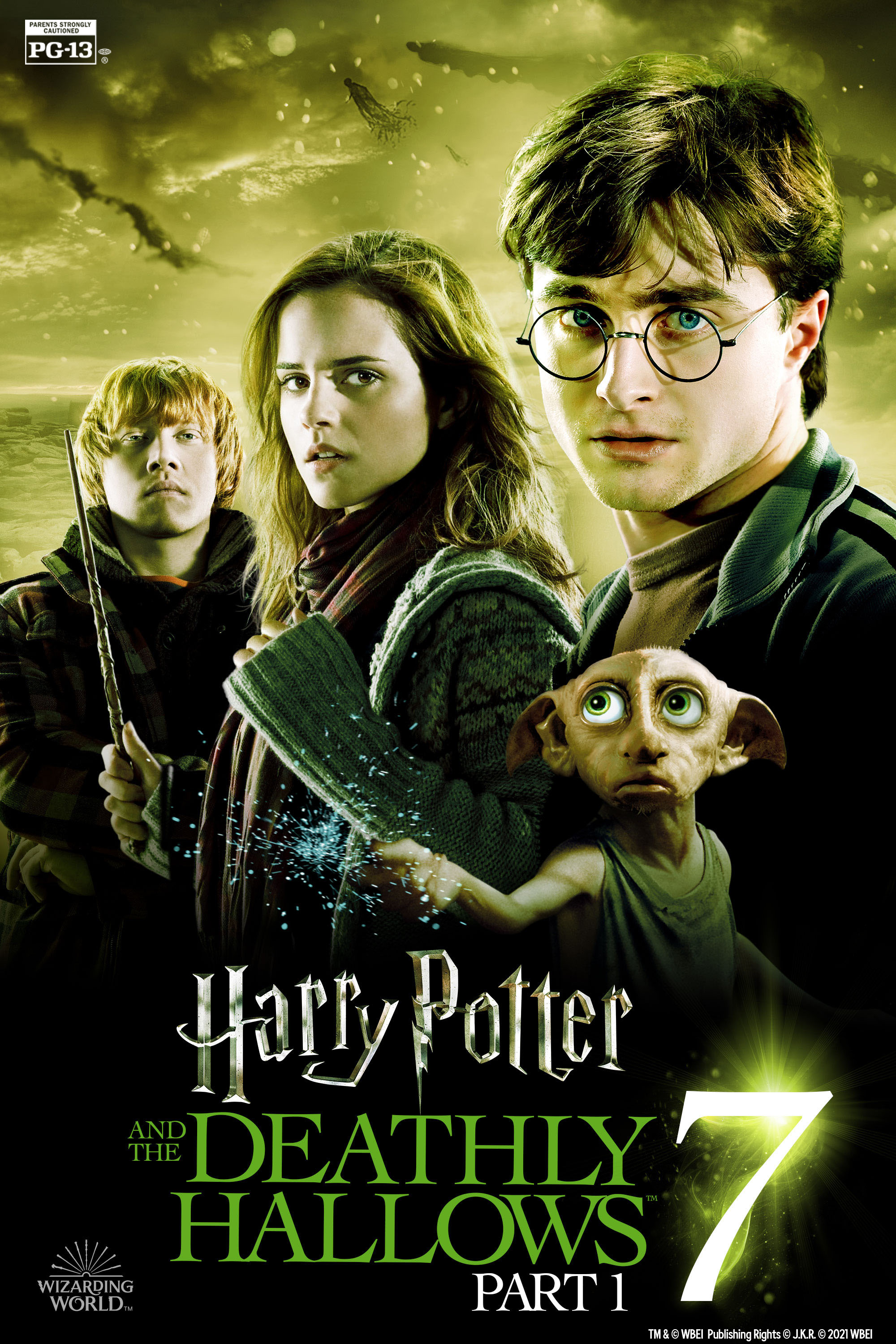 Movie poster image for HARRY POTTER AND THE DEATHLY HALLOWS: PART 1