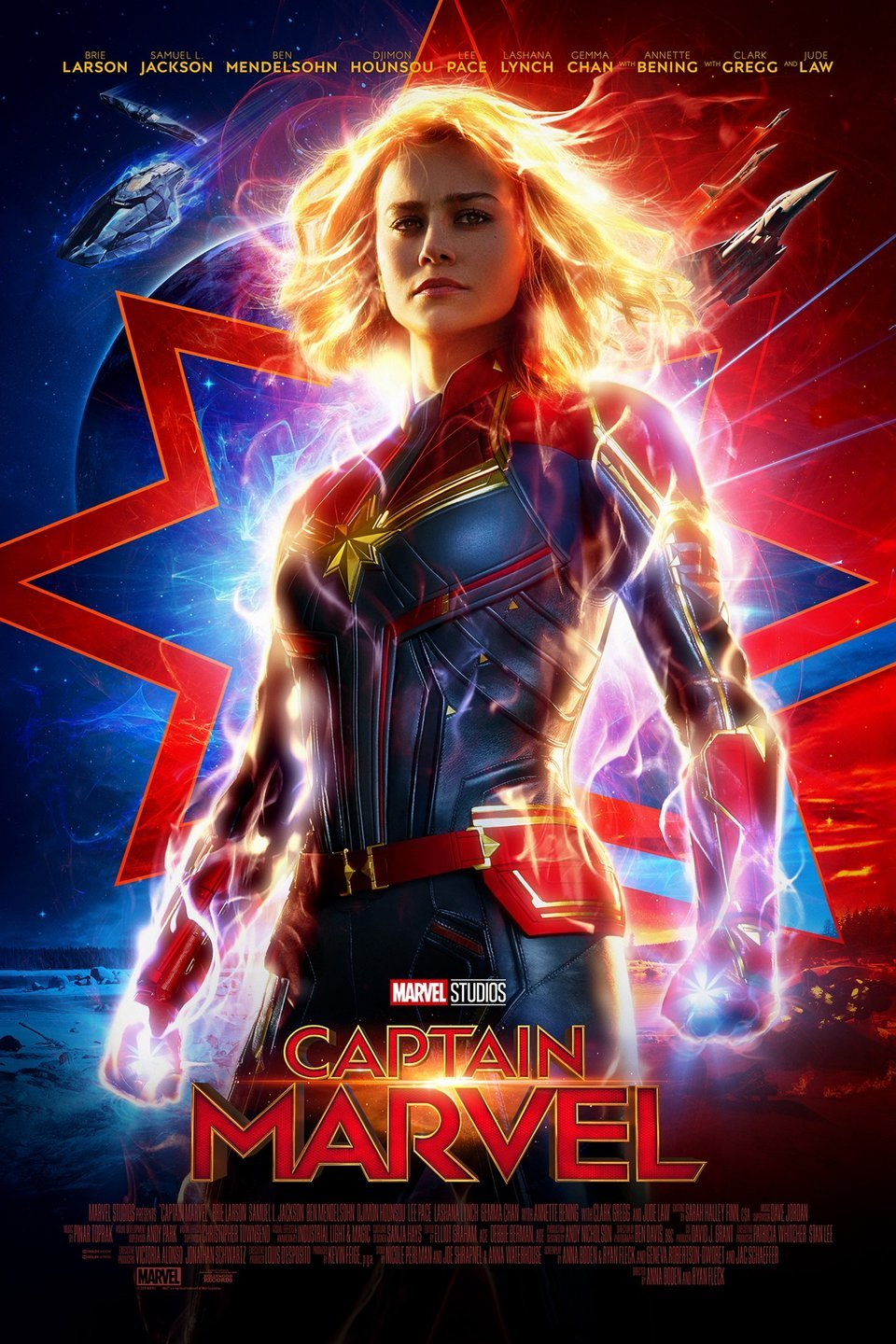 """Movie poster image for """"OPENING NIGHT FAN EVENT: CAPTAIN MARVEL"""""""