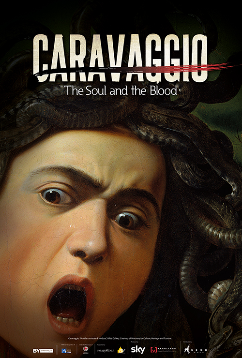 """Movie poster image for """"GREAT ART ON SCREEN: CARAVAGGIO: THE SOUL AND THE BLOOD"""""""