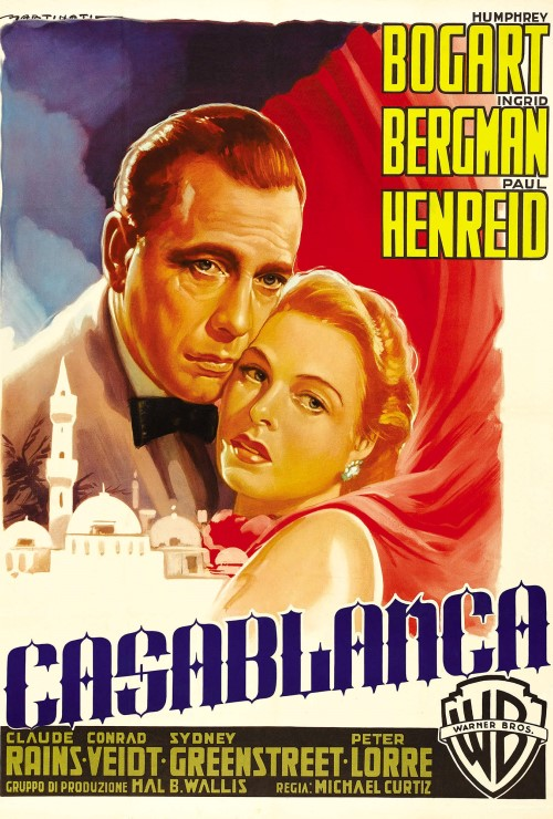 Movie poster image for CASABLANCA