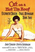 Poster of CAT ON A HOT TIN ROOF in 35MM