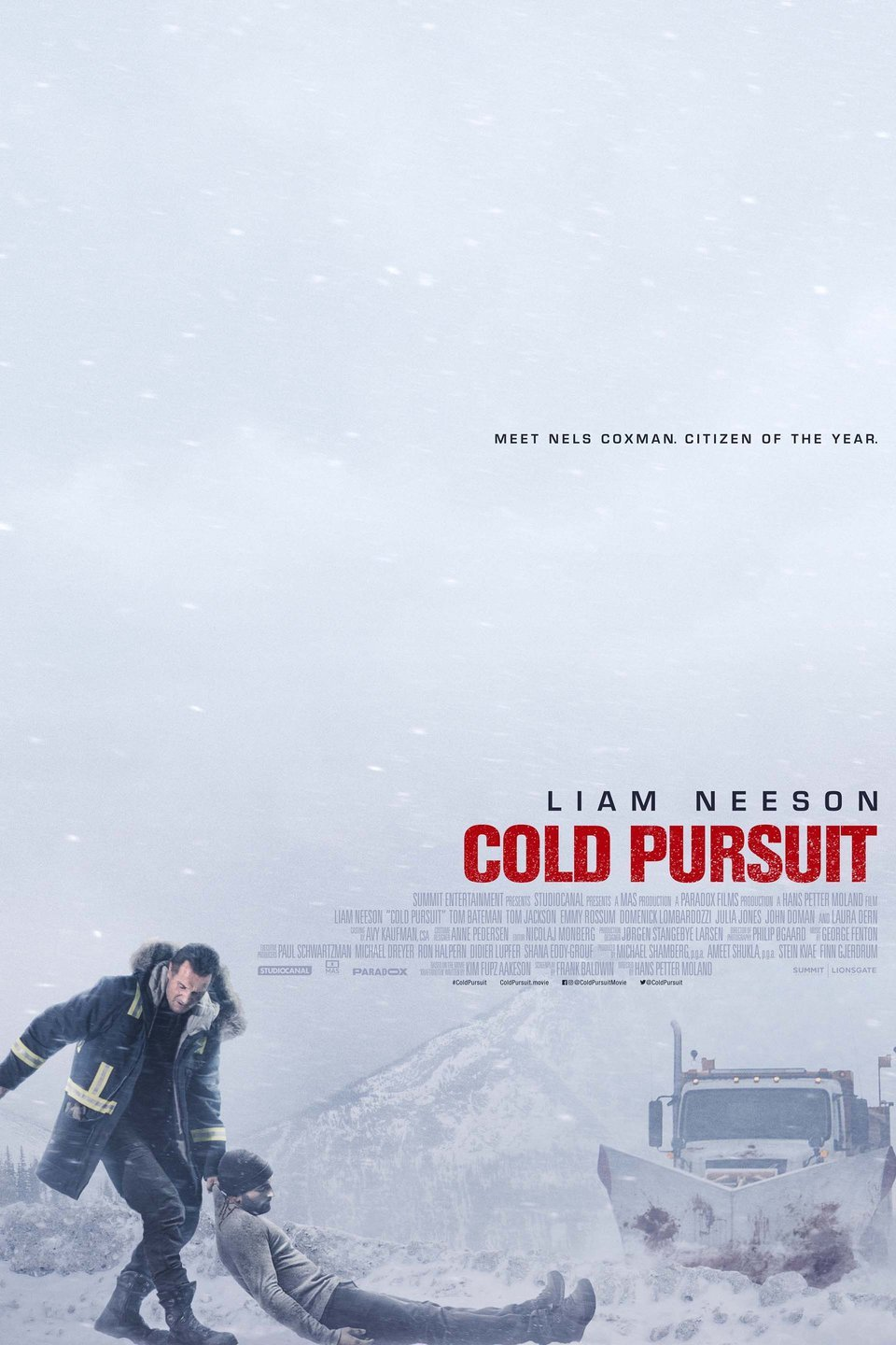 "Movie poster image for ""COLD PURSUIT"""