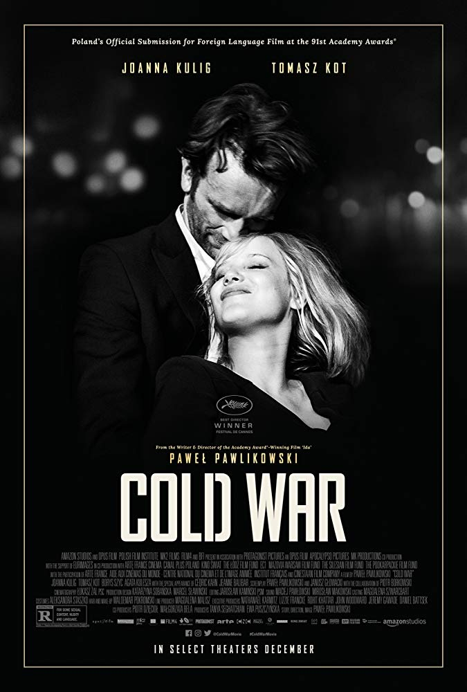 """Movie poster image for """"COLD WAR"""""""