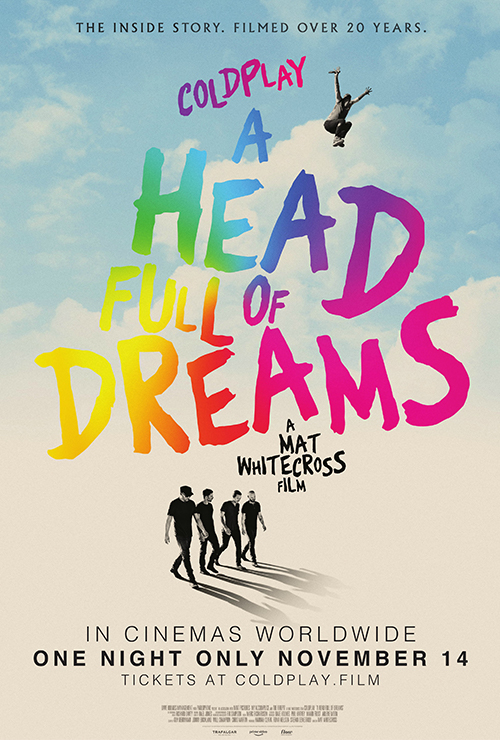 "Movie poster image for ""COLDPLAY: A HEAD FULL OF DREAMS"""