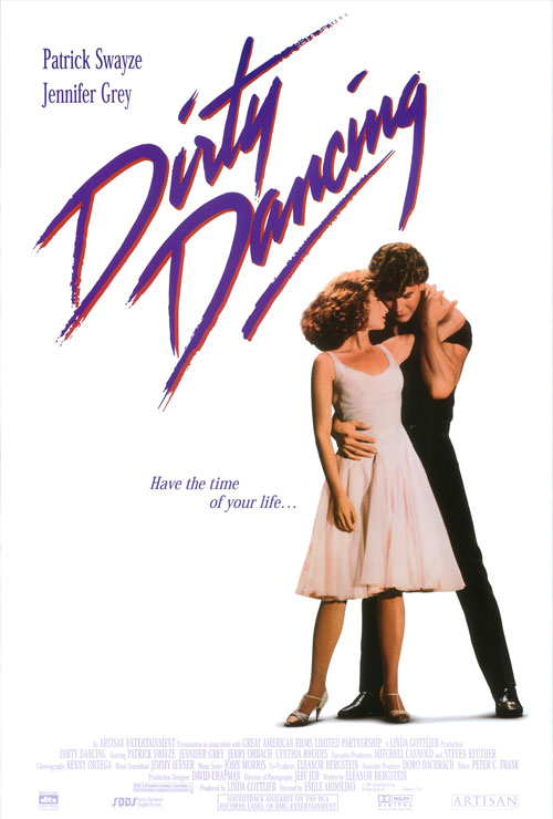 "Movie poster image for ""DIRTY DANCING"""