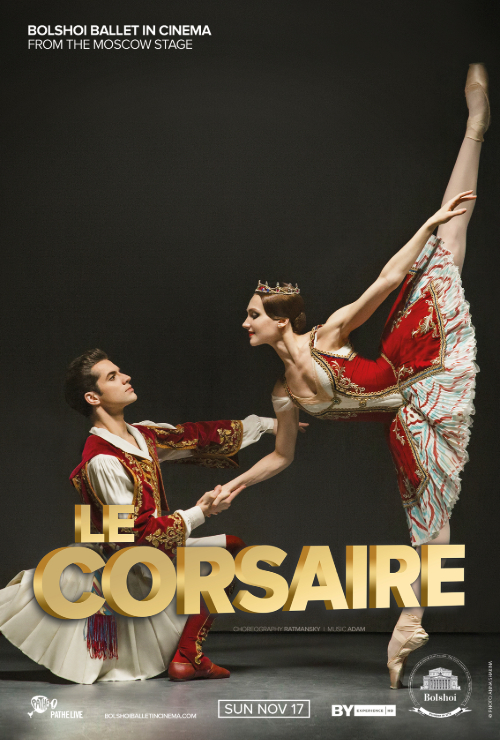 "Movie poster image for ""BOLSHOI BALLET: LE CORSAIRE"""
