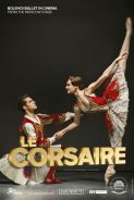 Movie poster image for BOLSHOI BALLET: LE CORSAIRE
