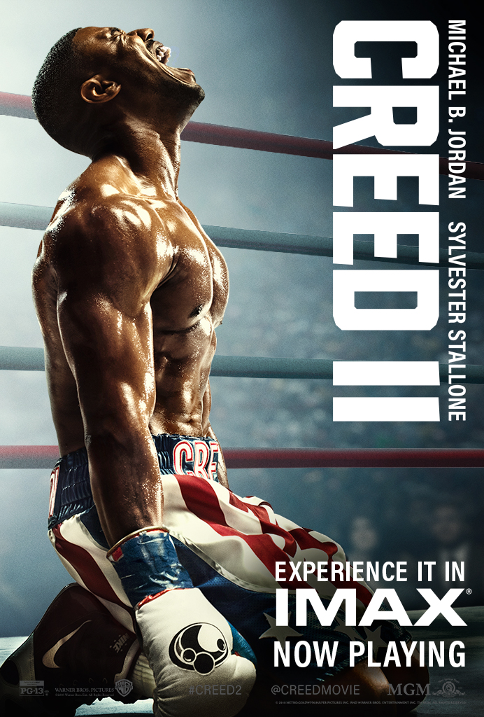 "Movie poster image for ""CREED II in IMAX"""