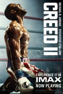 Poster of CREED II in IMAX