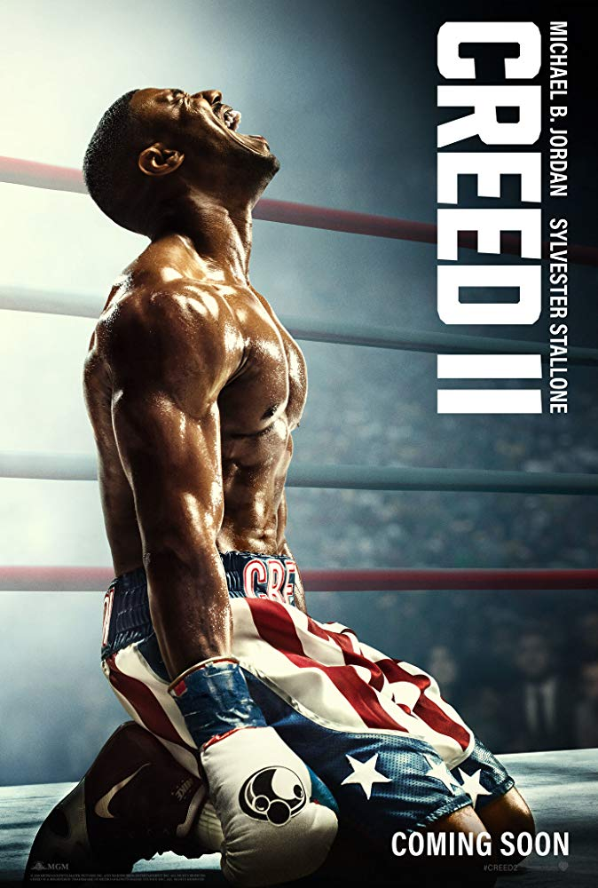 "Movie poster image for ""CREED II"""