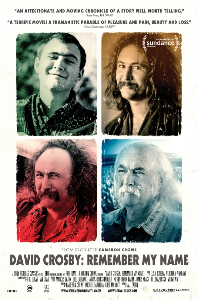 "Movie poster image for ""DAVID CROSBY: REMEMBER MY NAME"""