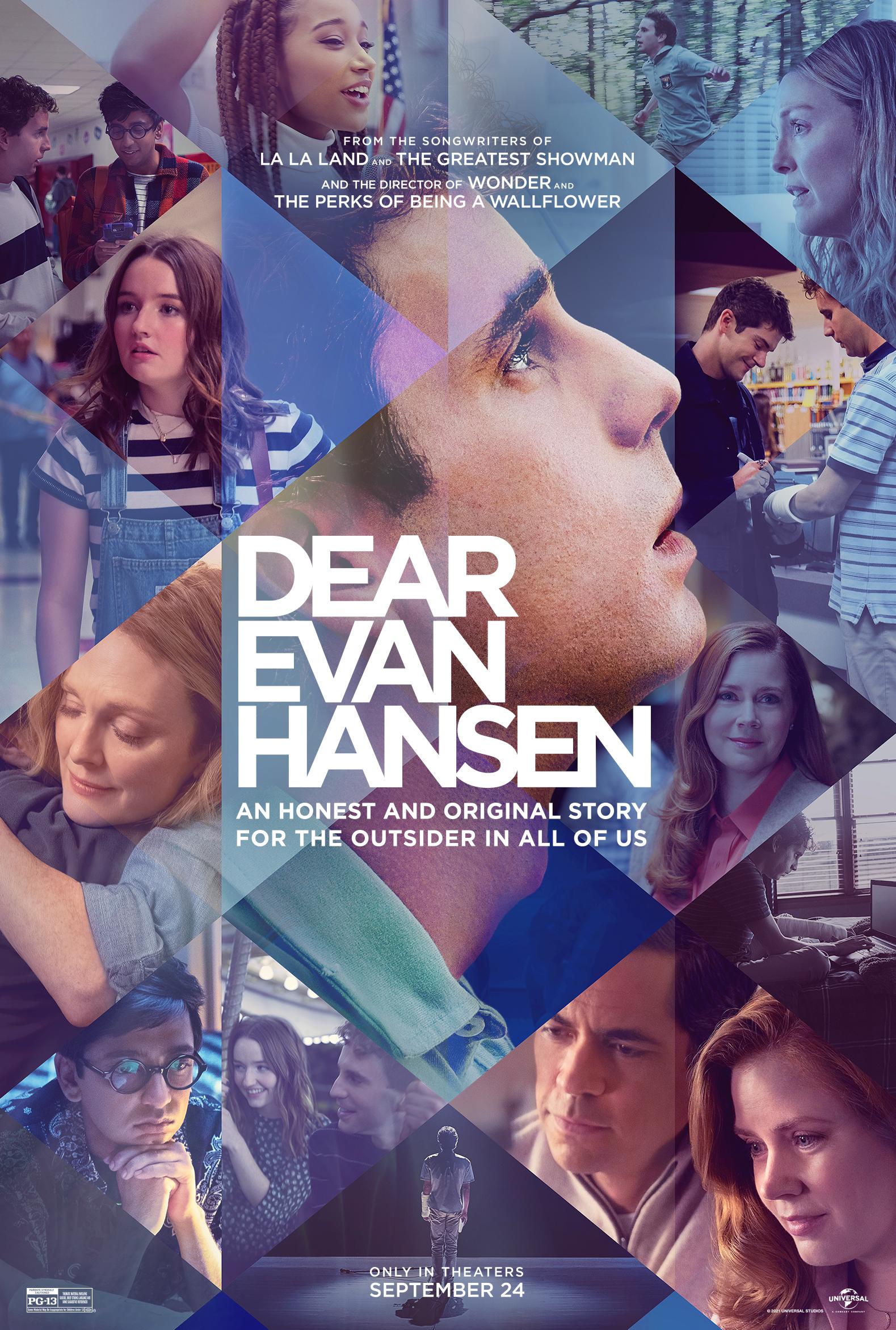 Movie poster image for DEAR EVAN HANSEN