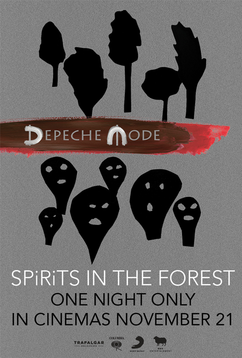 "Movie poster image for ""DEPECHE MODE: SPIRITS IN THE FOREST"""