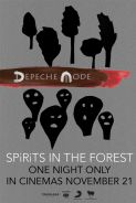 Poster of DEPECHE MODE: SPIRITS IN THE FOREST