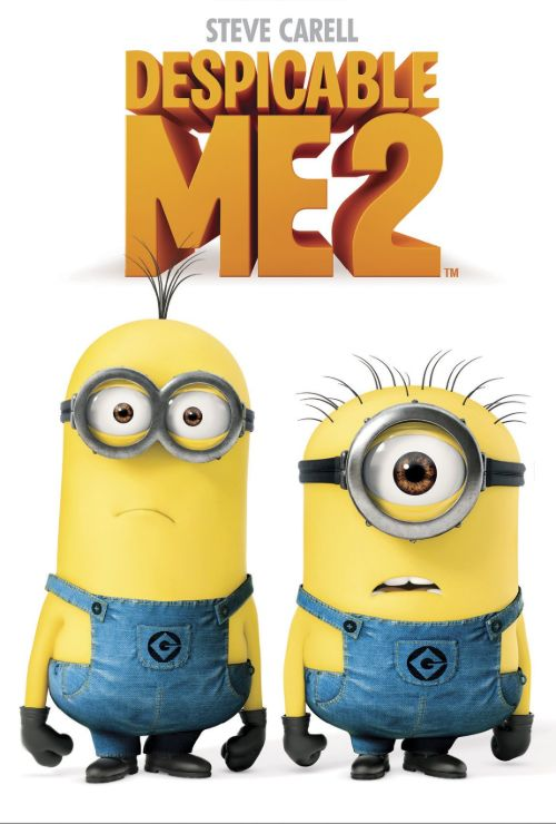"Movie poster image for ""DESPICABLE ME 2"""