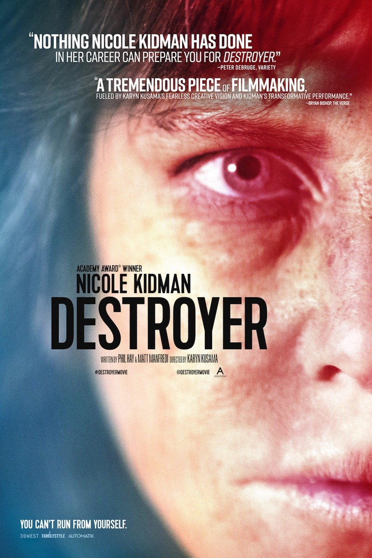"Movie poster image for ""DESTROYER"""